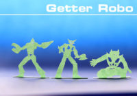 「ゲッターロボ」切りグラフ試作