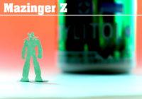 「マジンガーZ」切りグラフ試作